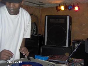 DJ Stage One. Late Nite Series, Nov. 3 2012.