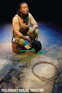 Regina Marie Williams in Pa's Hat: Liberian Legacy by Cori Thomas at PHT. photo by Michal Daniels, 2010