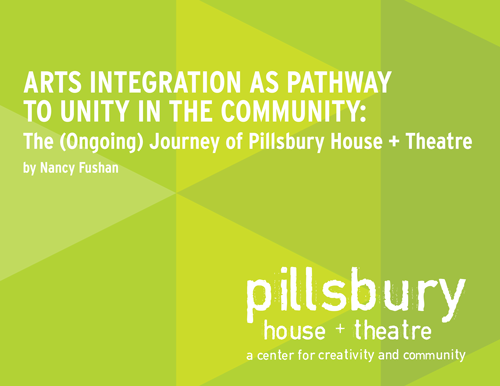 Arts Integration as Pathway to Unity in the Community report cover image