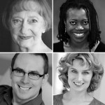 Death Tax cast, featuring Wendy Lehr, Regina Marie Williams, Tracey Maloney, and Clarence Wethern