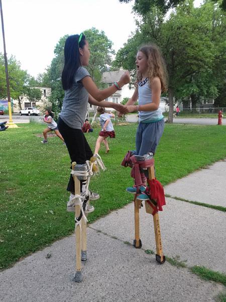 Stilting