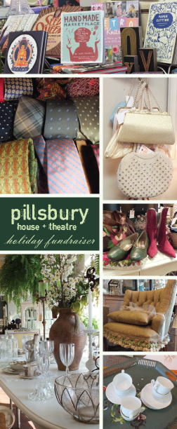 Pillsbury House + Theatre Holiday Fundraiser