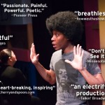 """""""Passionate. Painful. Powerful. Poetic. --Pioneer Press """"breathless"""" --howwastheshow.com """"insightful"""" --CityPages """"Don't miss it. See it twice."""" --Minnesota Theater Love """"moving, heart-breaking, inspiring"""" --cherryandspoon.com """"an electrifying production"""" --Talkin' Broadway"""